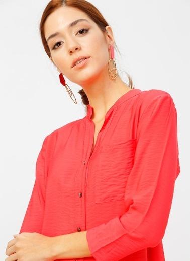 Fabrika Comfort Elbise Kırmızı